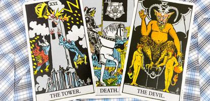 La Muerte, el Diablo y la Torre – La Verdad Sobre estas cartas del Tarot