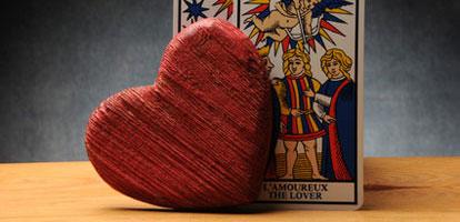 Significado de los Arcanos Mayores del Tarot en el Amor