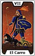 Significado de la carta del tarot El Carro
