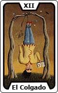 Significado de la carta del tarot El Colgado