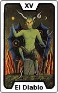 Significado de la carta del tarot El Diablo