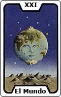 Significado de la carta del tarot El Mundo