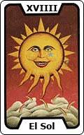 Significado de la carta del tarot El Sol