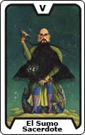 Significado de la carta del tarot El Sumo Sacerdote