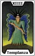Significado de la carta del tarot La Templanza