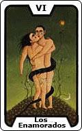 Significado de la carta del tarot Los Enamorados