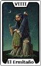 Signifiacdo de la carta de tarot El Ermitaño