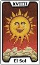 Signifiacdo de la carta de tarot El Sol