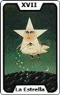 Signifiacdo de la carta de tarot La Estrella