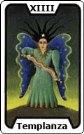 Signifiacdo de la carta de tarot La Templanza